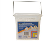Vitrex VIT10202600V - Wall Tile Spacers 2.5mm Pack of 3000