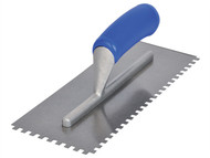 Vitrex VIT102953T - Notched Adhesive Trowel Square 6mm Soft Grip Handle 11 x 4.1/2in