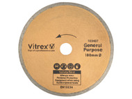 Vitrex VIT103407 - Diamond Blade Standard 180mm