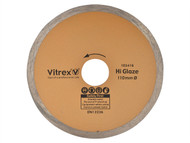 Vitrex VIT103416 - Diamond Blade Hi Glaze 110mm