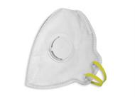 Vitrex VIT331223 - Premium Sanding & Loft Insulation Fold Flat Valve Mask 3 Pack
