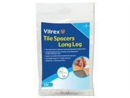 Vitrex VITLLS21500 - Long Leg Spacer 2mm Pack of 1500
