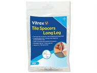 Vitrex VITLLS22000 - Long Leg Spacer 2mm Pack of 2000