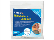 Vitrex VITLLS3250 - Long Leg Spacer 3mm Pack of 250