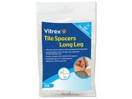Vitrex VITLLS4500 - Long Leg Spacer 4mm Pack of 500