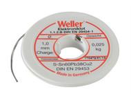 Weller WEL54002999 - EL60/40-25 Electronic Solder Resin Core 25g