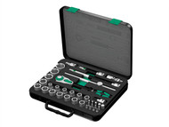 Wera WER003645 - Zyklop Socket Set of 37 Metric 1/2in Drive