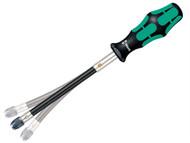 Wera WER028160 - Kraftform Nutspinner Flexshaft + Bit Holder 392