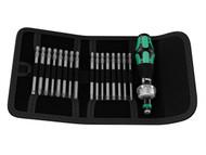Wera WER051040 - Kraftform Kompakt 60 RA Ratcheting Bit Holder Set of 17