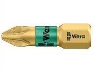 Wera WER056700 - 855/1 BDC BiTorsion Pozidriv PZ1 Bit Diamond Coated 25mm Pack 10