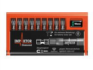 Wera WER057684 - Bit-Check 10 Impaktor 1 Pozi Set of 10