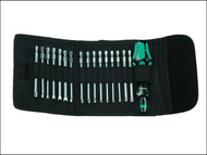 Wera WER059296 - Kompakt 61 Screwdriver Bit Holding General Kit of 17 Pouch