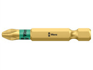 Wera WER059900004 - 855/4 BDC BiTorsion Pozidriv PZ1 Bit Diamond Coated Tip 50mm Pack 5