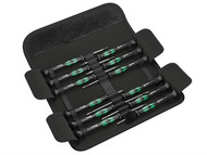 Wera WER073675 - Kraftform Micro Screwdriver Set 12 Piece SL/PH/HEX/TX