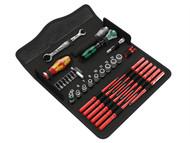 Wera WER135926 - Kraftform Kompakt W1 Maintenance Kit 35 Piece