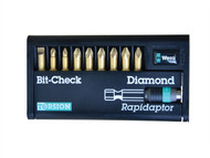 Wera WER344586 - Bit-Check Torsion Diamond Set of 10 SL PH & PZ