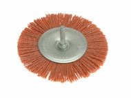 Wolfcraft WFC1502 - 1502 Nylon Wheel Brush 100mm