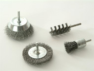 Wolfcraft WFC2133 - 2133 000 Wire Brush Set