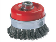 Wolfcraft WFC2150 - 2150 Wire Cup Brush 100mm x M14