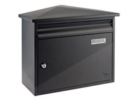 Yale Locks YAL400155 - Texas Postbox Black