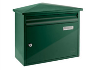 Yale Locks - Texas Postbox Green
