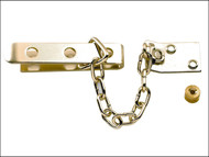 Yale Locks YALP1040PB - P1040 High Security Door Chain Brass Finish