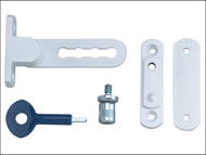 Yale Locks YALP117WE - P117 Ventilation Window Lock White Finish Pack of 1