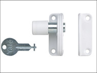 Yale Locks YALP123WE - P123 Sash Window Presslock White