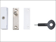 Yale Locks YALP2P118WE - P118 Auto Window Lock White Finish Pack of 2