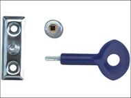 Yale Locks YALP6P111SC - P111 Window Staylocks Satin Chrome Finish Pack of 6