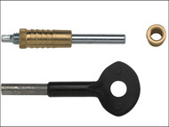 Yale Locks YALP6P119 - P119 Sash Window Bolts Pack of 6 P6P119