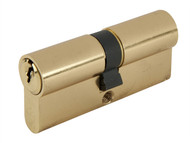Yale Locks YALPKM4045PB - Euro Double Cylinder Kitemark 40 x 45 (95mm) Polished Brass Visi