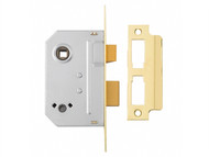 Yale Locks YALPM236PB25 - PM236 Bathroom 2 Lever Sashlock Polished Brass 67mm 2.5in