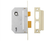 Yale Locks YALPM246CH25 - PM246 Internal 2 Lever Mortice Sashlock Polished Chrome 67mm 2.5in