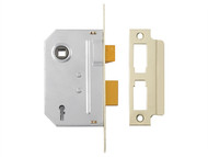 Yale Locks YALPM246CH30 - PM246 Internal 2 Lever Mortice Sashlock Polished Chrome 80mm 3in