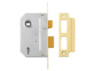 Yale Locks YALPM246PB30 - PM246 Internal 2 Lever Mortice Sashlock Polished Brass 80mm 3in