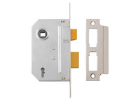Yale Locks YALPM320CH30 - PM320 3 Lever Mortice Sashlock Polished Chrome 79mm 3in