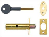 Yale Locks YALPM444PB - PM444 Door Security Bolt Brass Finish Visi of 1