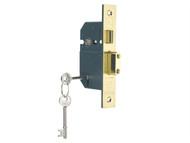 Yale Locks YALPM560PB25 - PM560 Hi-Security BS 5 Lever Mortice Sashlock Polish Brass 68mm 2.5in
