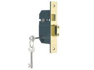 Yale Locks YALPM560PB30 - PM560 Hi-Security BS 5 Lever Mortice Sashlock Polish Brass 81mm 3in