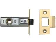 Yale Locks YALPM888PB25 - M888 Tubular Mortice Latch 64mm 2.5in Polished Brass Visi Pack of 1