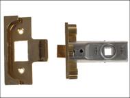 Yale Locks YALPM999PB64 - M999 Rebate Tubular Latch 64mm 2.5 in Polished Brass Finish