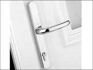 Yale Locks YALPPVCRHWH - Retro Door Handle uPVC Polished PVD White Finish