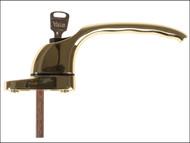 Yale Locks YALPYWHL40PB - PVCu Window Handle Polished Brass Finish
