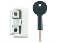 Yale Locks YALV8K101LKW - 8K101 Window Latch White Finish Visi
