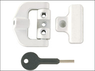 Yale Locks YALV8K123LKW - 8K123 PVCu Window Lock White Finish