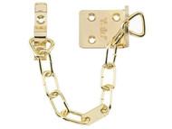 Yale Locks YALVWS6EB - WS6 Security Door Chain - Electro Brass Finish