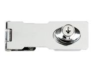 Yale Locks YALY116115 - Y116/115 Locking Hasp Chrome Plated 116mm