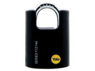 Yale Locks YALY12140 - Y121 40mm Brass Padlock Closed Shackle