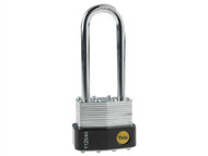 Yale Locks YALY12540LS - Y125 40mm Laminated Steel Padlock 63mm Shackle